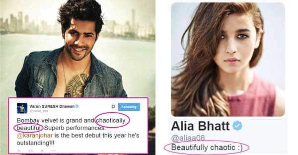 Did Varun Dhawan steal Alia Bhatt's Twitter bio to tweet about Bombay Velvet?