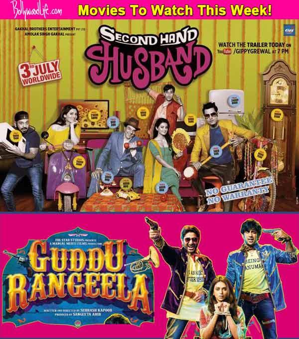 Movies to watch this week: Guddu Rangeela and Second Hand Husband!