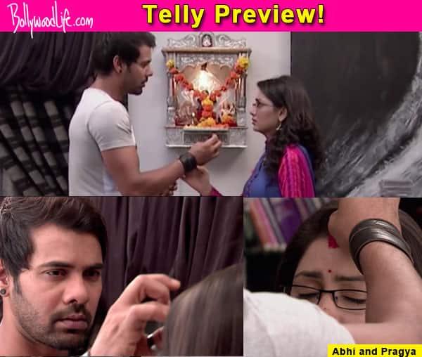 Kumkum Bhagya: Abhi relives his marriage moments with Pragya – watch video!