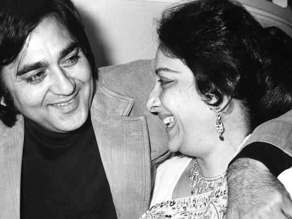 Nargis with Sunil Dutt
