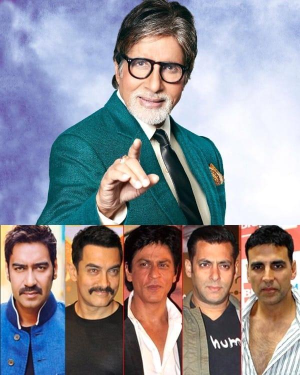 Amitabh Bachchan calls Shah Rukh Khan, Salman Khan, Aamir Khan, Akshay Kumar, Ajay Devgn super heroes!