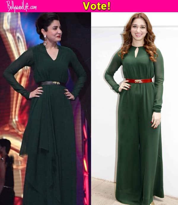 Anushka Sharma or Tamannaah Bhatia: Who wore Sabyasachi better?