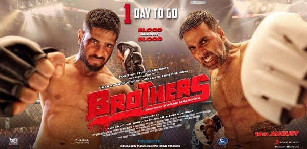 Akshay Kumar: Brothers is way better than Warrior!