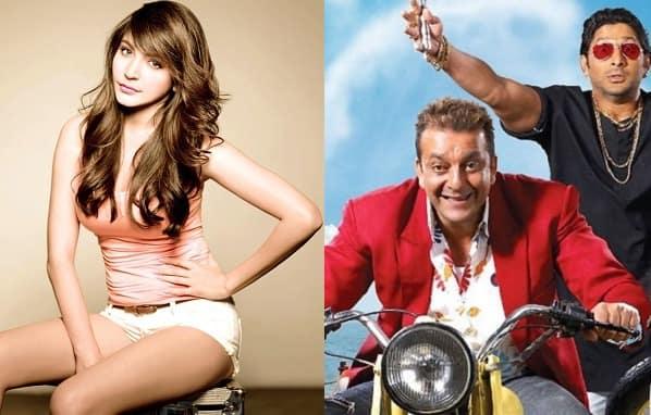 Did you miss Anushka Sharma in Sanjay Dutt's Lage Raho Munna Bhai? – view pic!
