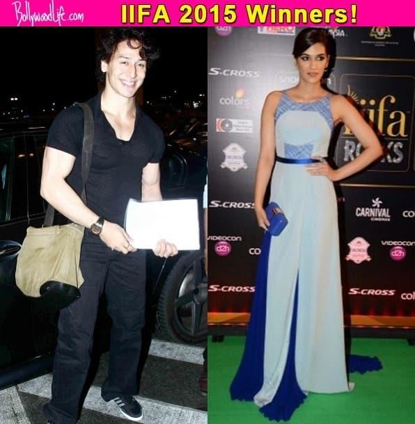 IIFA 2015: Tiger Shroff, Kriti Sanon, Sajid Nadiadwala and Omung Kumar win Best Debut awards!