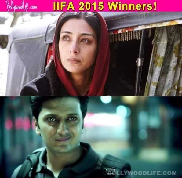 IIFA 2015: Tabu, Riteish Deshmukh and Kay Kay Menon walk away with awards!