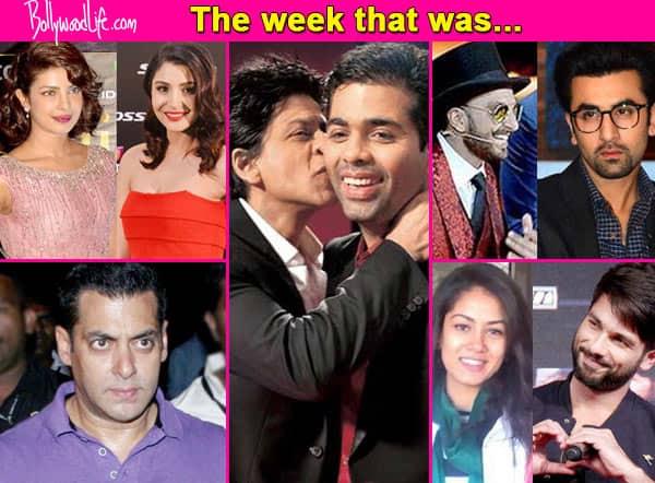 Salman Khan quitting Twitter, Shah Rukh-Karan Johar patch up, Priyanka Chopra-Anushka Sharma cat fight – the top news makers of this week!