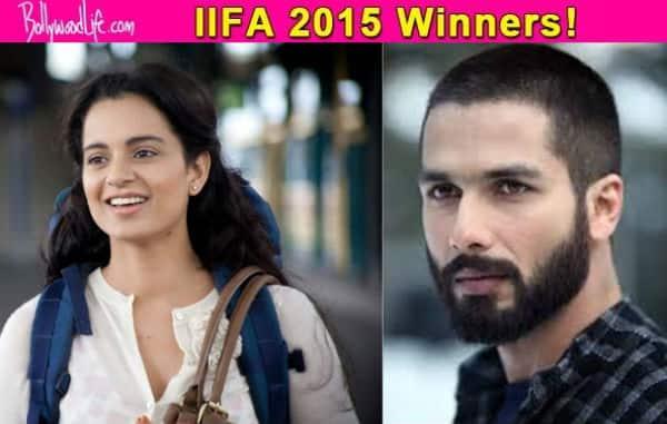 IIFA 2015: Shahid Kapoor wins Best Actor, Kangana Ranaut wins Best Actress, Queen wins Best Picture; see full winners list!