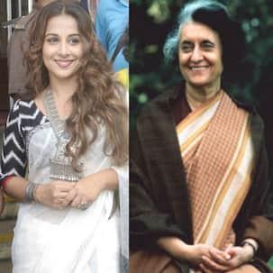 Director Manish Gupta is waiting for Vidya Balan and the Gandhi family's approval to make the Indira Gandhi biopic!