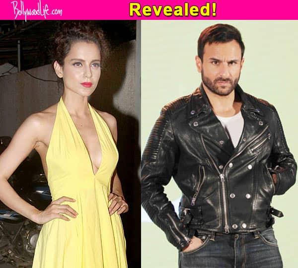 The real reason why Kangana Ranaut is not doing Sujoy Ghosh's next starring Saif Ali Khan!