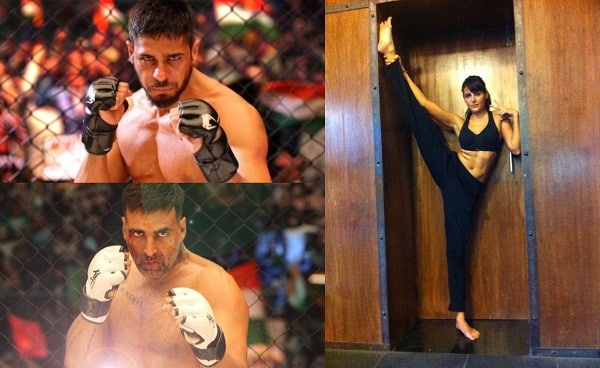 After Sidharth Malhotra and Akshay Kumar, now Mandana Karimi learns kickboxing – watch video!