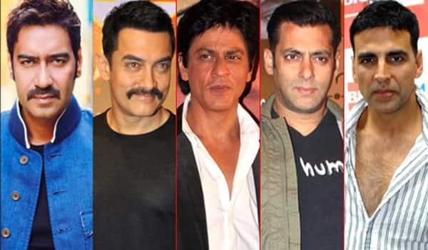 Salman Khan And Shahrukh Khan And Aamir Khan