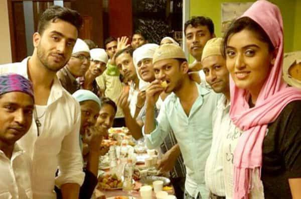 Yeh Hai Mohabbatein's Divyanka Tripathi and Karan Patel celebrate iftaar with co-stars Aly Goni -Shireen Mirza!