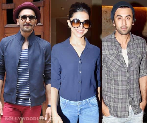 Deepika Padukone picks Ranveer Singh, keeps Ranbir Kapoor waiting!