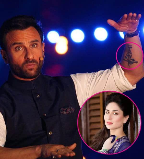 Why Kareena Kapoor Khan will never sport a Saif Ali Khan tattoo?