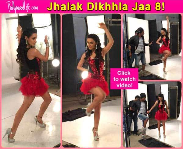 Jhalak Dikhhla Jaa 8: Sanaya Irani looks hot in her JDJ promo - Watchvideo!