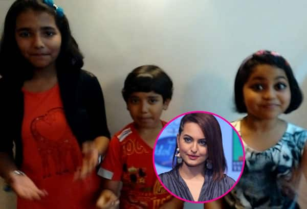 Indian Idol Junior 2: Sonakshi Sinha is paid a singing tribute by the kids – watch video!