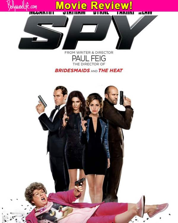 Spy movie review: Nargis Fakhri's Hollywood debut is a lovable and entertaining spoof!