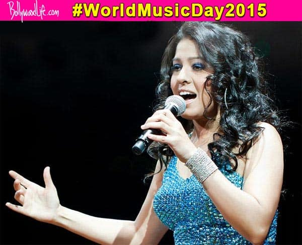 World Music Day 2015: Sunidhi Chauhan's 3 evergreen hit songs - watch videos!