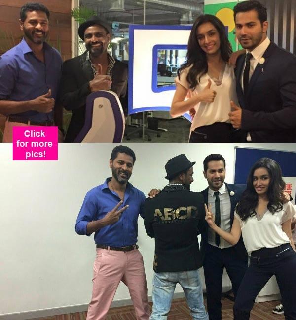Varun Dhawan and Shraddha Kapoor have fun at Facebook! – view pics
