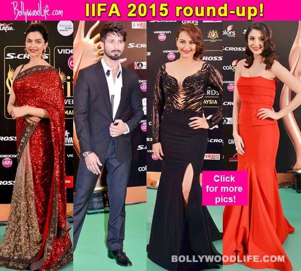 IIFA 2015: Shahid Kapoor, Anushka Sharma, Deepika Padukone won the green carpet with their style!