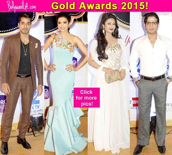 Gold Awards 2015: Gautam Gulati, Gauahar Khan, Karan Patel, Divyanka Tripathi rock the starry night – view pics!