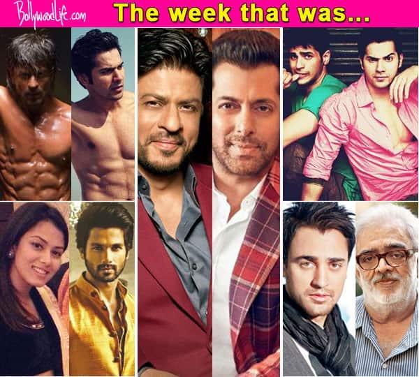Shah Rukh Khan – Salman Khan clash at BO, Varun – Sidharth in Ram Lakhan remake, Imran Khan – Rahul Rawail fight – top news makers of this week!