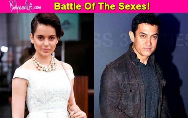 Aamir Khan makes Rs 150 crore off PK while Kangana earns Rs 3 crore!
