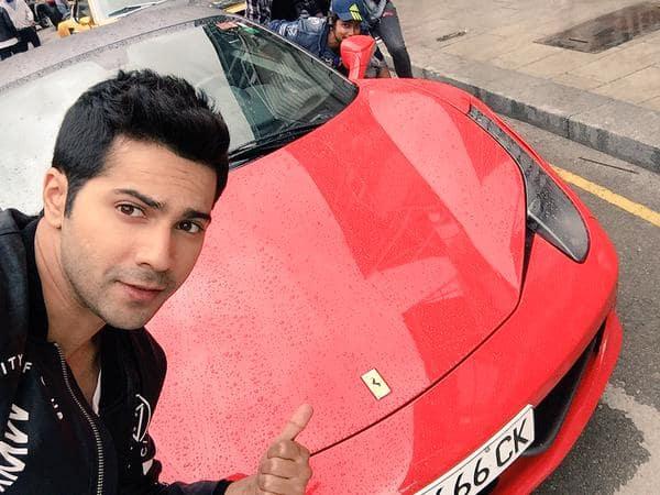 Anirudh New Ferrari Car