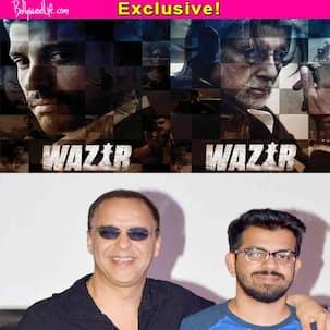 I didn't direct Wazir because Bejoy Nambiar is a way better director than me, says Vidhu Vinod Chopra