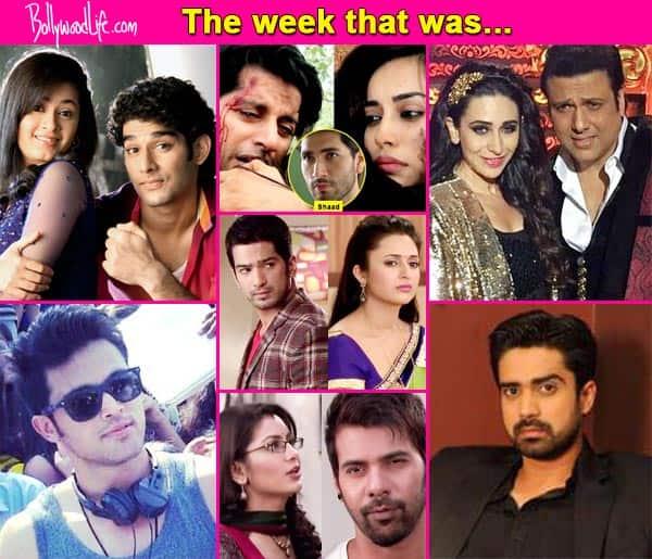 Parth Samthaan, Karisma Kapoor, Avinash Sachdev – Meet the top 5 newsmakers of the week!