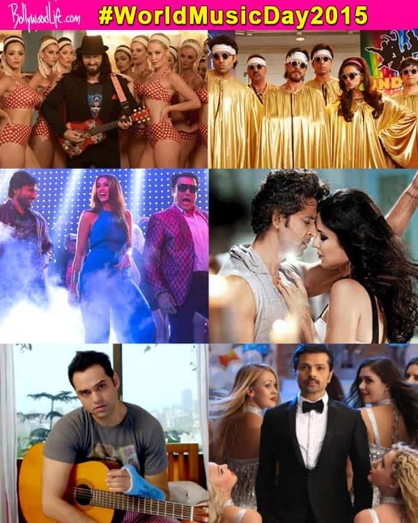World Music Day 2015: Shah Rukh Khan, Varun Dhawan, Sidharth Malhotra, Deepika Padukone, Salman Khan's wackiest lyrical songs!