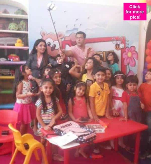 Bajrangi Bhaijaan Salman Khan's day out with kids – view pics