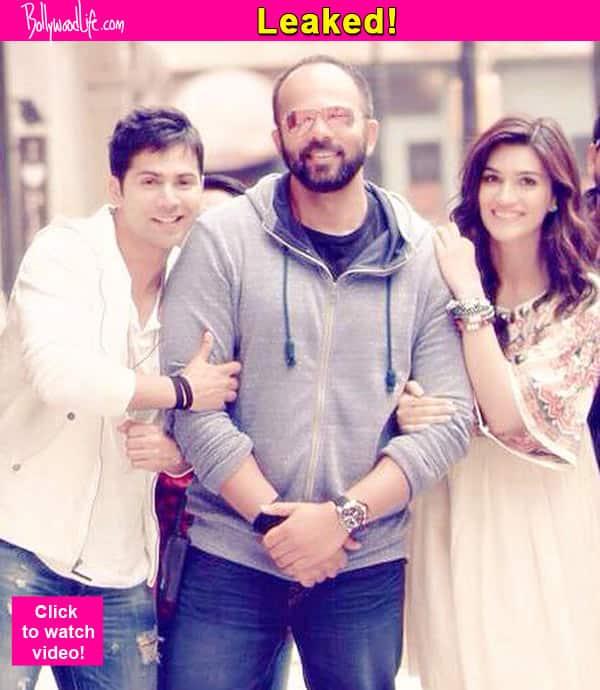 Varun Dhawan and Kriti Sanon's Dilwale song Lut gaya pyar mein LEAKED! Watch video