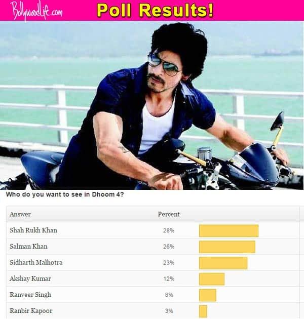 Shah Rukh Khan should do Dhoom 4, think fans!