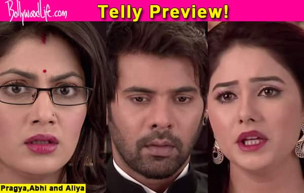 Kumkum Bhagya: Pragya in tears ahead of Abhi's secret engagement with Tanu – watch video!