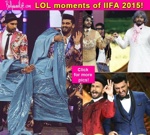 IIFA 2015: 7 hilarious gags  of Arjun Kapoor and Ranveer Singh that would leave you in splits!