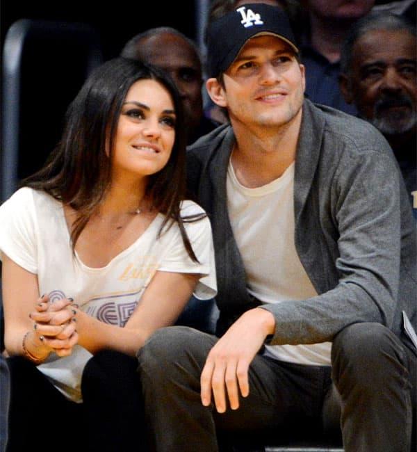 Ashton Kutcher and Mila Kunis get married secretly?