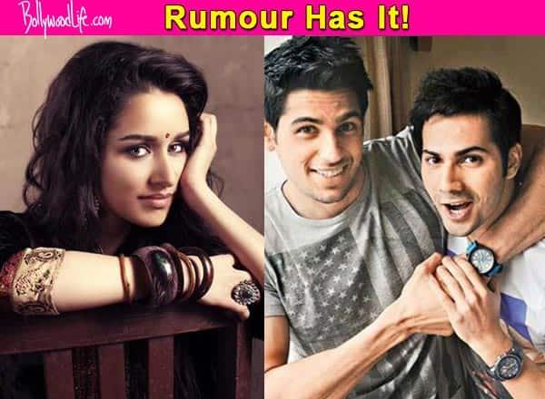 Shraddha Kapoor to play Radha in Varun Dhawan and Sidharth Malhotra's Ram Lakhan remake?