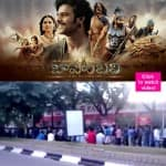 1 km! That's how long the advance booking line is for Rana Daggubati's Baahubali – watch video!