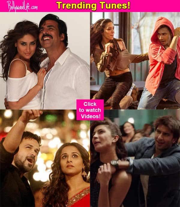Akshay Kumar's Teri meri kahani, Varun Dhawan's Sun Sathiya, Emraan Hashmi's Hamari Adhuri Kahani top the charts this week!