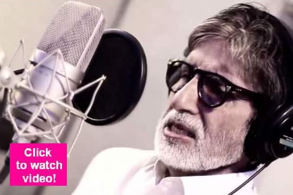 Amitabh Bachchan lends his voice to the Pro-Kabaddi league championship promo song!