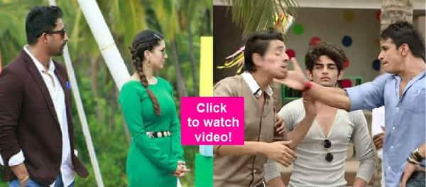 MTV Splitsvilla: Sunny Leone gets pissed as Prince Narula SLAPS contestant Shivam!