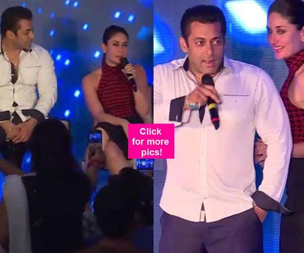 Salman Khan and Kareena Kapoor Khan's chemistry during Bajrangi Bhaijaan promotions will make you go AWWW – view pics!