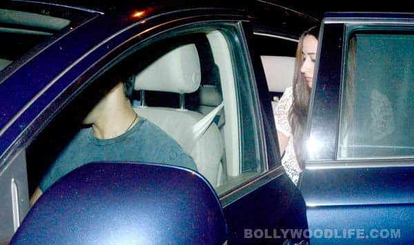 Varun Dhawan's late night outing with girlfriend Natasha Dalal – view pics!