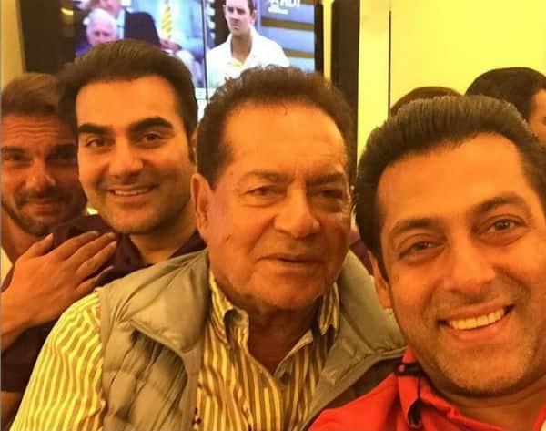 Salman Khan, Arbaaz Khan, Sonakshi Sinha, Preity Zinta celebrate Eid – View pics!