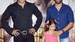 Salman Khan celebrates Eid with Bajrangi Bhaijaan co-star Harshaali Malhotra – view pics!