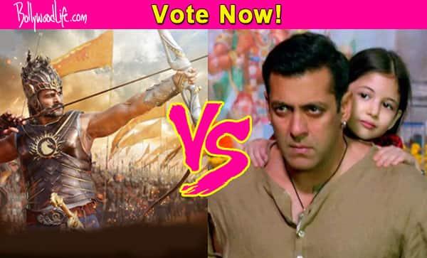 Salman Khan's Bajrangi Bhaijaan or Prabhas' Baahubali – which film took you by storm?
