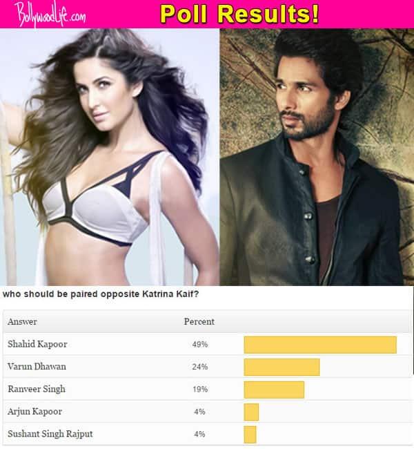 Shahid Kapoor will look best opposite Katrina Kaif onscreen, say fans!