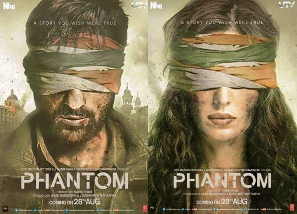 Revealed: First look of Katrina Kaif and Saif Ali Khan in Kabir Khan's Phantom will give you GOOSEBUMPS!
